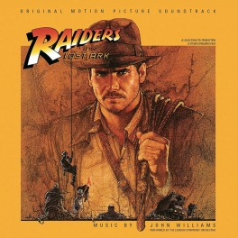Indiana Jones Raiders of The Lost Ark 2LP 180g Vinyl John Williams Soundtrack Bernie Grundman 2017 EU