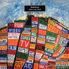 Radiohead Hail To The Thief 2lp 45rpm 180 Gram Vinyl Gatefold Xl Recordings Optimal 2016 Eu Vinyl Gourmet