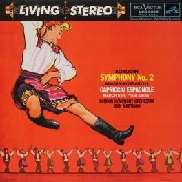 Borodin Symphony No2 Rimsky-Korsakov LP 200 Gram Vinyl Martinon Analogue Productions QRP 2017 USA