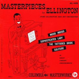 Duke Ellington Masterpieces Ellington 2LP 45rpm 200 Gram Vinyl Analogue Productions Mono QRP USA