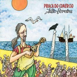 Júlio Pereira Praça do Comércio LP Vinil Autografado Edição Limitada Numerada Tradisom Portugal 2017