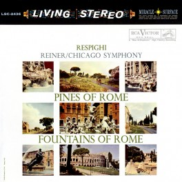 Respighi Pines Of Rome Fritz Reiner 2LP 45rpm Vinil 200g RCA Living Stereo Analogue Productions QRP US