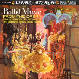 Fistoulari Ballet Music From the Opera LP 200g Vinyl Living Stereo Analogue Productions QRP 2017 USA