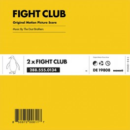 The Dust Brothers Fight Club 2LP 180 Gram Pink Vinyl Original Motion Picture Score Mondo Tees 2017 USA