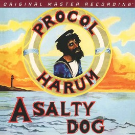 Procol Harum A Salty Dog LP 180g Vinyl Mobile Fidelity Sound Lab Limited Numbered Edition RTI 2017 USA