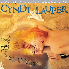 Cyndi Lauper True Colors LP Vinyl Mobile Fidelity Sound Lab Numbered Limited Edition MFSL 2015 USA
