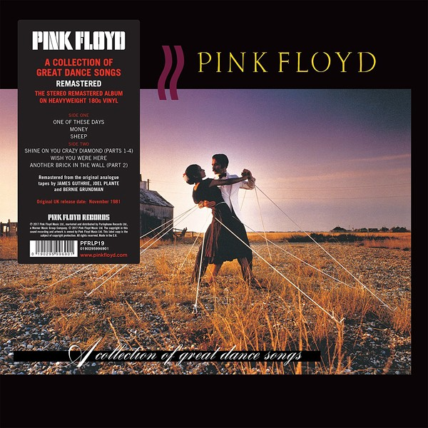 Pink Floyd A Collection Of Great Dance Songs LP 180g Vinyl