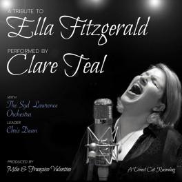 Clare Teal A Tribute To Ella Fitzgerald LP 180g Vinyl D2D Air Studios Direct Cut Chasing The Dragon 2016 EU