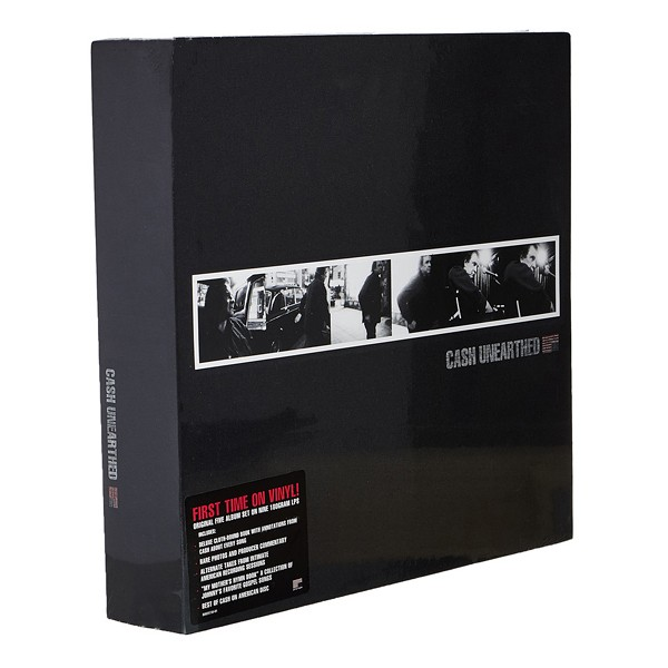 Johnny Cash Unearthed 9lp 180 Gram Vinyl Box Set Book