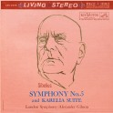 Sibelius Symphony No.5 Karelia Suite Gibson LP Vinil 200gr Living Stereo Analogue Productions QRP USA