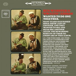 Ben Webster & Sweets Edison 2LP 45rpm 180g Vinyl Numbered Limited Edition Bernie Grundman ORG USA