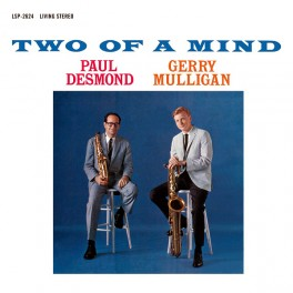 Paul Desmond Gerry Mulligan Two Of A Mind LP Vinil 180g Bernie Grundman Limited Edition ORG Music USA