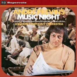 André Previn's Music Night LP 180g Vinyl André Previn London Symphony EMI Hi-Q Records Supercuts EU