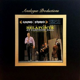 Harry Belafonte At Carnegie Hall 5LP 45rpm 200 Gram Vinyl Box Set Analogue Productions Sterling QRP USA