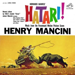 Henry Mancini Hatari! 2LP 45rpm 200g Vinyl Soundtrack RCA Analogue Productions Sterling QRP 2017 USA