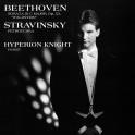 Hyperion Knight Beethoven Sonata Waldstein Stravinsky LP Vinil 200g Wilson Audiophile QRP USA
