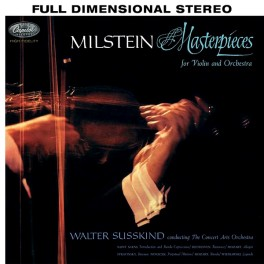 Nathan Milstein Masterpieces For Violin And Orchestra LP Vinil 200 Gramas Analogue Productions QRP USA