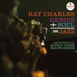 Ray Charles Genius + Soul = Jazz LP 200 Gram Vinyl Impulse! Stereo A-2 Analogue Productions QRP USA