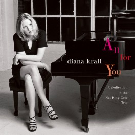 Diana Krall All For You A Dedication To The Nat King Cole Trio 2LP 45rpm 180g Vinyl Limited Edition ORG