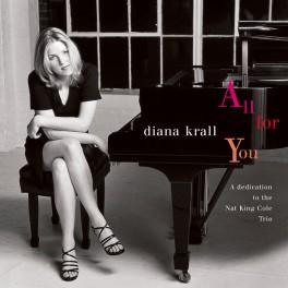 Diana Krall All For You A Dedication To The Nat King Cole Trio 2LP 45rpm Vinil 180g Edição Limitada ORG