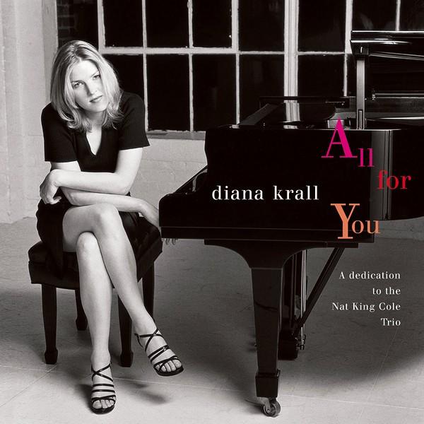 Diana Krall All For You A Dedication To The Nat King Cole Trio 2lp 45rpm Vinil 180g Edição Limitada Org Vinyl Gourmet