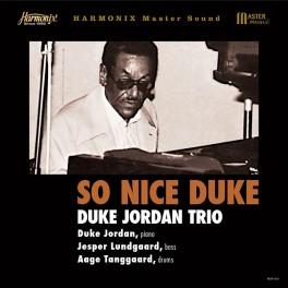 Duke Jordan Trio So Nice Duke LP 180 Gram Vinyl Tohru Kotetsu JVC Harmonix Master Sound Japan 2017