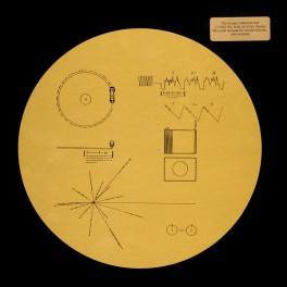 The Voyager Golden Record Caixa 3LP Vinil Dourado Translúcido Bernie Grundman Ozma Records 2017 USA