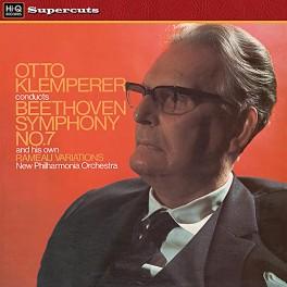Otto Klemperer Beethoven Symphony No.7 LP 180 Gram Vinyl Philharmonia EMI Hi-Q Records Supercuts EU