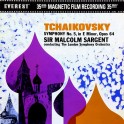 Tchaikovsky Symphony No.5 2LP 45rpm Vinil 200gr Sargent LSO Everest Classic Records QRP 2018 USA