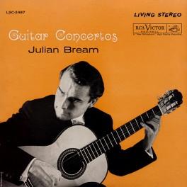 Julian Bream Guitar Concertos LP 200 Gram Vinyl RCA Living Stereo Analogue Productions QRP 2018 USA