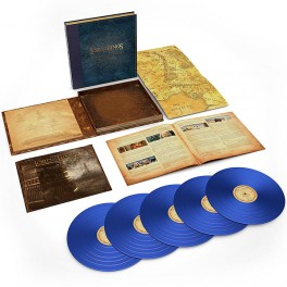 The Lord Of The Rings The Two Towers Complete Recordings 5LP 180 Gram Blue Vinyl Box Set 2018