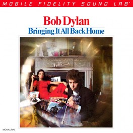 Bob Dylan Bringing It All Back Home 2LP 45rpm 180g Vinyl Mono Numbered Limited Edition MFSL RTI USA
