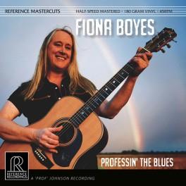 Fiona Boyes Professin' The Blues 2LP 45rpm Vinil 180gr Reference Recordings Mastercuts QRP 2017 USA