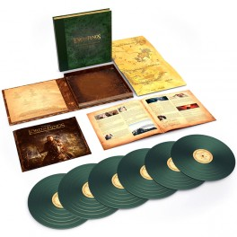 The Lord Of The Rings The Return of The King Complete Recordings 6LP 180 Gram Green Vinyl Box Set 2018