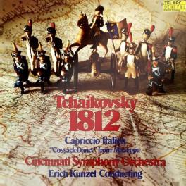 Tchaikovsky 1812 Overture LP 180g Vinyl Cincinnati Symphony Orchestra Erich Kunzel Telarc Records USA