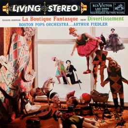 Rossini-Respighi La Boutique Fantasque LP 200g Vinyl RCA Living Stereo Analogue Productions QRP USA