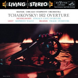 Tchaikovsky 1812 Overture Reiner CSO LP 200g Vinyl RCA Living Stereo Analogue Productions QRP USA