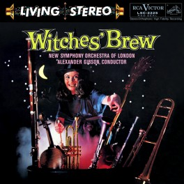 Alexander Gibson Witches' Brew LP Vinil 200 Gramas RCA Living Stereo Analogue Productions QRP USA