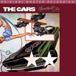 The Cars Heartbeat City LP 180 Gram Vinyl Mobile Fidelity Sound Lab Limited Edition MoFi MFSL RTI USA