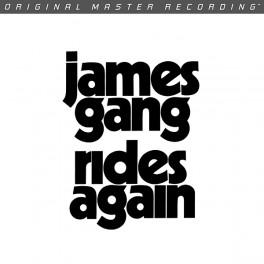 James Gang Rides Again LP Vinil 180g Mobile Fidelity Sound Lab Edição Limitada Numerada MFSL RTI USA