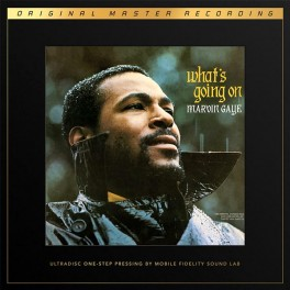 Marvin Gaye What's Going On 2LP 45rpm Vinil 180g MFSL UltraDisc One-Step UD1S Supervinyl RTI USA