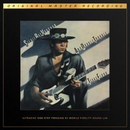 Stevie Ray Vaughan Texas Flood 2LP 45rpm Vinil 180g MFSL UltraDisc One-Step UD1S Supervinyl RTI USA