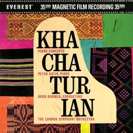 Khachaturian Concerto Piano and Orchestra 2LP 45rpm 200g Vinyl Katin Everest Classic Records QRP USA