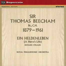 Ein Heldenleben Strauss LP 180g Vinyl EMI Beecham Royal Philharmonic Hi-Q Records Supercuts EU
