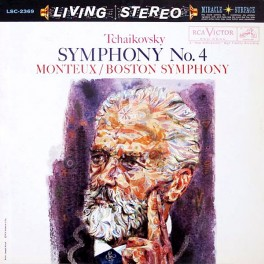 Tchaikovsky Symphony No 4 Monteux LP Vinil 200g BSO RCA Living Stereo Analogue Productions QRP USA