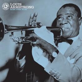 Louis Armstrong Basin Street Blues LP 180 Gram Vinyl Black Lion Pallas ORG Music 2016 USA