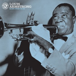 Louis Armstrong ‎Basin Street Blues LP Vinil 180 Gramas Black Lion Pallas ORG Music 2016 USA