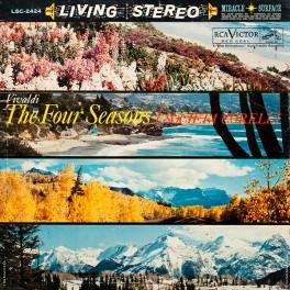 Vivaldi The Four Seasons Societa Corelli LP 200g Vinyl RCA Living Stereo Analogue Productions QRP USA
