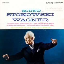 The Sound Of Stokowski And Wagner LP 200 Gram Vinyl RCA Living Stereo Analogue Productions QRP USA