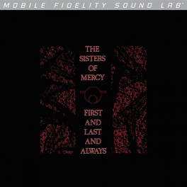 The Sisters Of Mercy First And Last And Always LP Vinyl Mobile Fidelity Limited Edition MoFi MFSL USA